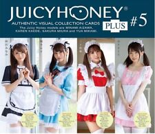 Juicy Honey PLUS 5  Complete Set 72 Base + 9 SP Total 85 Cards