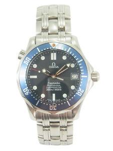 OMEGA Seamaster Professional 300m Mid Size Automatic Date Watch 2551.80 w/Box