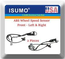 2 ABS Wheel Speed Sensor Front Left & Right For Lexus Toyota Avalon Camry Solara