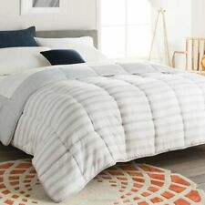 Goose Down Alternative Comforter 7 Colors Reversible All Season Bed In a Bag New