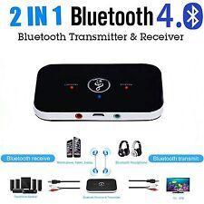 2in1 HIFI Wireless Bluetooth 3.5mm Audio Empfänger Musik Stereo Receiver Adapter