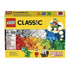 Lego Classic Extra Supplement 303 Piece Bricks Set (6101961)Ages 4-99 Creative