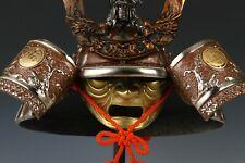 Japanese Samurai Kabuto Helmet -dragon with kamon helmet-