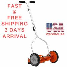 """American Lawn Mower Company 1204-14 Trimmer Cutting Grass Hand Reel 4-Blade 14"""""""