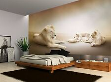 Lions Family Wall Mural Photo Wallpaper GIANT WALL DECOR