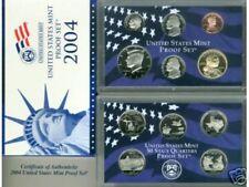 2004  United States MINT PROOF SET- 10 Coin Set