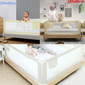 Bettschutzgitter Rausfallschutz 180-200cm Bettgitter Bettrailing Babybett Kinder