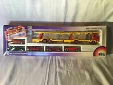 Siku 3913 Autotransporter mit 5 PKW's / Transporter Set with 5 Cars Boxed
