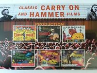 GB Presentation Pack 414 2008 Classic Carry On + Hammer Films