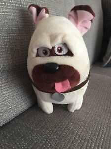 mel secret life of pets teddy plush toy TY Pug Dog