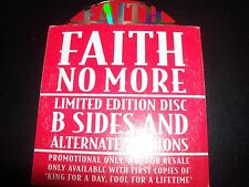 Faith No More Limited B-sides & Alternate Versions Promo Card Sleeve CD Single