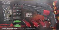 Spielzeugwaffe + Munition + Ziele *Black Series * .44MG Western Gun