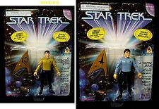 Star Trek Playmates Scotty & Sulu Exclusive Spencer Gifts Figures Scott New 1996