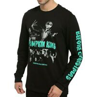 Disney Jack Skellington The Nightmare Before Christmas Pumpkin King L/S T Shirt