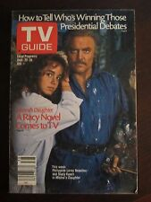 TV Guide September 1984 Stacy Keach Mistral's Daughter No Label