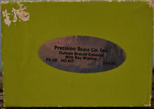 Precision Scale PK-49, HO Scale Brass - Western Pacific Caboose Kit