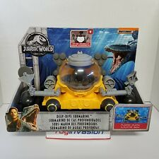 Matchbox 2018 Jurassic World Deep Dive Submarine Water Toy Action Figure