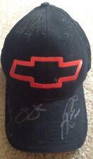 NASCAR CHEVROLET WINNERS CIRCLE Autographed Hat (4 Signatures inc. J. Johnson)