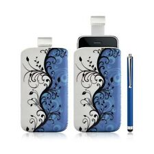 Housse coque étui pochette pour Apple Iphone 3G/3GS avec motif + Stylet luxe