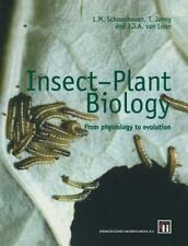 Insect-Plant Biology: From Physiology to Evolution-ExLibrary