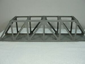 Postwar Lionel 317 Trestle Bridge - Gray