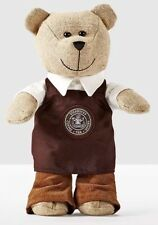 Starbucks Bearista Bear Apron Barista Pikes Place Gift Toy Limited Edition