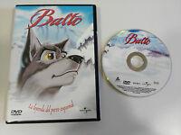 BALTO LA LEYENDA DEL PERRO ESQUIMAL DVD + EXTRAS UNIVERSAL CASTELLANO ENGLISH