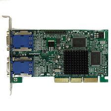 Matrox Millennium g450 dualhead tarjeta gráfica AGP para w9x dos y como socio 3dfx