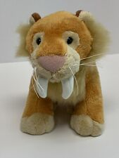 Webkinz Sabertooth Tiger Realistic Plush No Code Stuffed Animal Toy