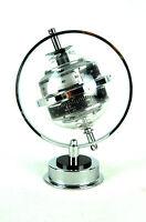 Vintage Sputnik Weather Station Barometer Hygrometer Thermometer 70s 80s Era