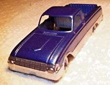 "Vintage Hubley Die-cast Toy Ranchero Truck Marked 5 1/2"""
