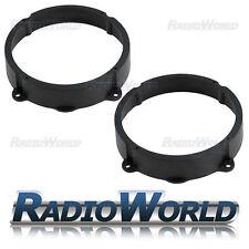 """Alfa Romeo 147 Speaker Adaptor Rings Front Rear Doors 6.5"""" 16.5cm 165mm SAK-1007"""