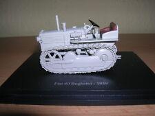 ATLAS TRACTEUR FIAT 40 BOGHETTO année de construction 1939 gris TREKKER, 1:43