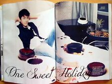 SUPER JUNIOR DONG HAE/Cuttings 18P---Magazine clippings /Ceci Korea/Feb. 2013