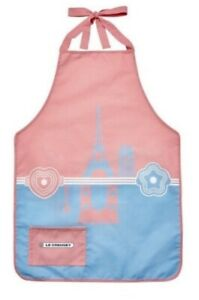 Rare, Le Creuset Pink Apron, Limited Edition, New, Hard To Find