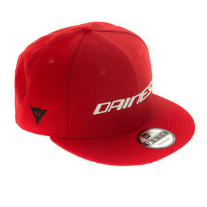 New Dainese 9Fifty Wool Snapback Cap Red #201990004-002-N