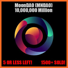 "🚀🌠✨ 10 Million ""10,000,000"" MoonDAO (MNDAO)"