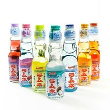Shirakiku Ramune Carbonated Soft Drink Soda 200 ml - Blueberry (200 ml)