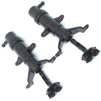 2Pcs For VW Touareg 2003-2006 Headlight Headlamp Washer Nozzle Cylinder