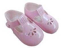 BNIB  Made in the U.K Baby Girls pink baypod shoes soft sole 6-12 months EU 18