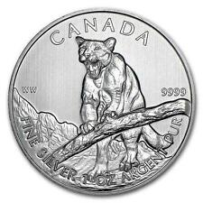 New 2012 Canadian Silver Cougar 1oz Bullion Coin