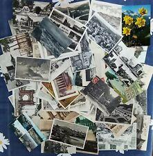 L7232 EUROPE LOT OF 100 OLD POSTCARDS CASTLES, CATHEDRALS, MONUMENTS, BRIDGES