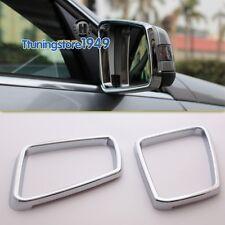 Chrome side door Mirror rims frame trim BENZ W204 W212 W176 W246 X204 A B E CLS