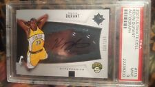 ~ HIGH END++ ULTIMATE COLLECTION AUTO PSA 9 POP 6 /150 ROOKIE KEVIN DURANT 2007