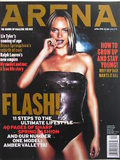 AMBER VALLETTA  April 1999 (UK) ARENA Magazine  LIV TYLER  RALPH LAUREN