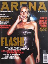 AMBER VALLETTA  April 1999 (UK) ARENA Magazine  LIV TYLER  RALPH LAUREN