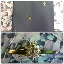41 Commando Marines (Crest) Tie Set HQ 3 CDO With PITH Tie Bar (yellow dag)