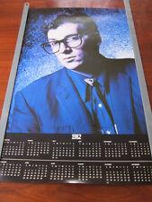 ELVIS COSTELLO 1982 Calendar Poster