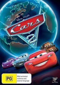 Cars 2 DVD (PAL, 2011) Free Post
