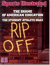 May 19, 1980 Student Athlete Rip-Off Sports Illustrated NO LABEL Newsstand 1